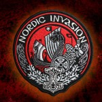 Nordic Invasion Scandinavia Sew-on Sleeve Embroidered patch