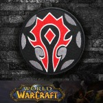 World of WarCraft The Horde Logo Embroidery Sew-on / Iron-on Patch
