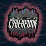 Patch da cucire / termoadesiva CYBERPUNK 2077 High Tech Low Life