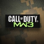 Call of Duty Modern Warfare 3 Game Series Ricamo cucito / toppa termoadesiva