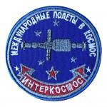Interkosmos Soviet Space Program Souvenir Sleeve Patch