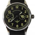 Molniya Shturmanskie MIG millésime montre-bracelet navigateur transparent