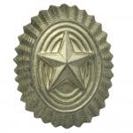 Insigne d'officier russe de cocarde d'insigne de chapeau de champ