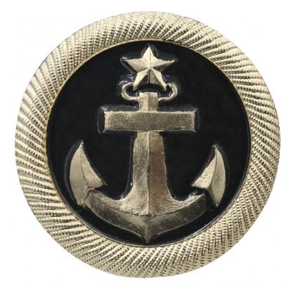 ロシア海軍艦隊士官候補生帽子バッジ金属オカデ