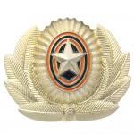 Insigne de chapeau d'insignes d'officiers de l'armée russe Cocarde