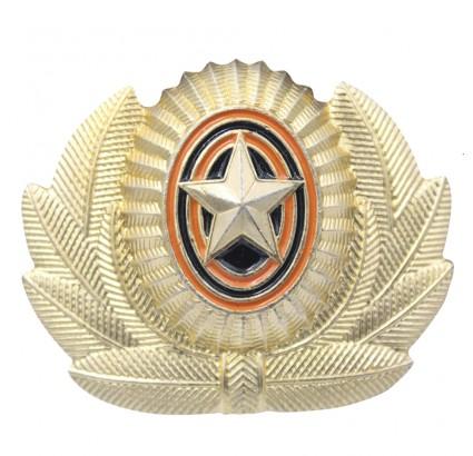 Russische Offiziers Abzeichen mit Abzeichen Cocarde