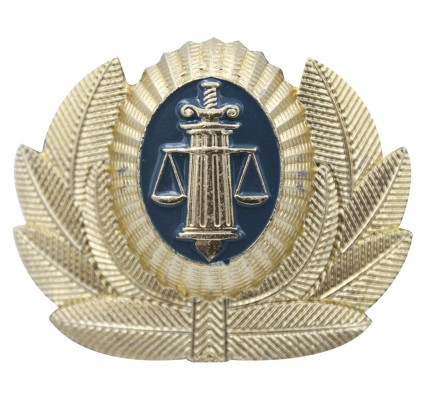 司法警察官の帽子バッジオカデ