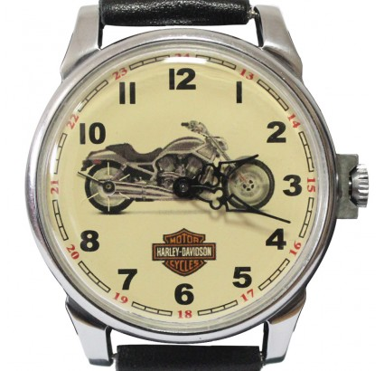 Molnija Montre-bracelet motard russe avec Harley Davidson