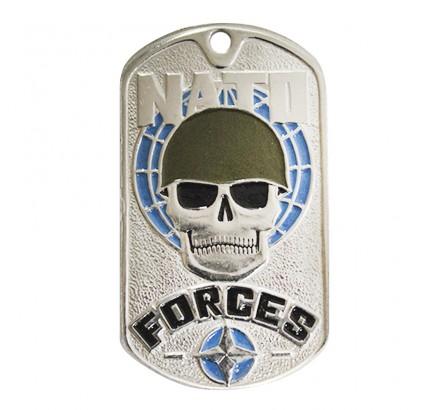 "Etiqueta especial de la OTAN ""Fuerzas de la OTAN"""