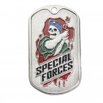 """US-Militär-SWAT-Metallplatten dog tag """"SPEZIALEINHEITEN"""""""