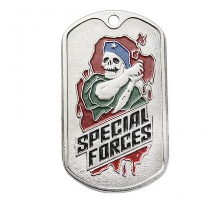 "US militare SWAT metallica Dog Tag ""Forze speciali"""