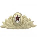 Insigne d'insigne de chapeau russe de défilé militaire de l'URSS