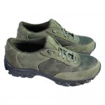 Women's tactical Sneakers Summer Olive leather trainers
