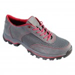 Women's tactical Summer gray Sneakers genuine leather trainers for females