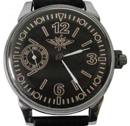 Russian / Soviet air force PILOT wristwatch Molnija 18 Jewels