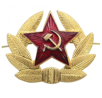 Soviet / Russian Military Red Star Insignia badge