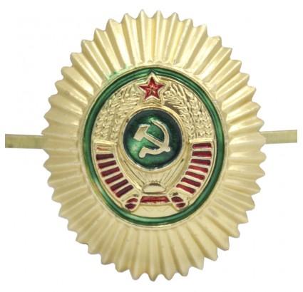 Russian hat badge cockade Soviet border guards insignia
