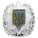 ウクライナMVS警察官の帽子の記章