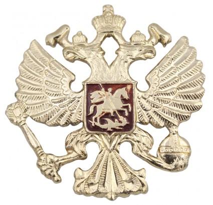 Insignia militar del sombrero del ejército ruso