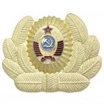 Russisches Hutabzeichen der sowjetischen POLICEMAN COCKADE