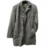 Original Russian Army Officer's military gray coat perfect Soviet military raincoat