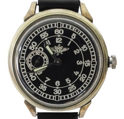 Molnija SHTURMANSKIE reloj negro vintage navegador