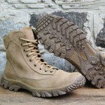 Assault urban-type beige leather boots Russian army tactical outdoor combat wear Spetsnaz boots