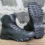 Russian army black leather boots Assault type tactical outdoor military combat wear Spetsnaz boots Work footwear