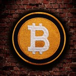 Emblème du logo Bitcoin Cryptocurrency Patch Airsoft brodé thermocollant / Velcro