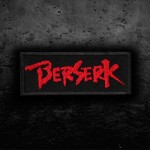 Anime Berserk Logo Embroidered Iron-on / Velcro Emblem Patch