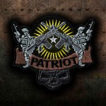 Airsoft Patriot Gun Cosplay Embroidered Iron-on / Velcro Emblem Patch