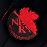Anime Evangelion TV Series Nerv Company Embroidered Iron-on / Velcro Patch