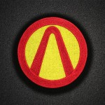 Borderlands Game Logo Emblem Embroidered Iron-on / Velcro Patch