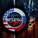 Battlefield Game Series Embroidered Iron-on / Velcro Patch