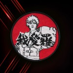 Fifth Kazekage Gaara Anime Naruto Embroidered Iron-on / Velcro Patch