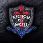 Armor of God Cosplay Embroidered Iron-on / Velcro Patch