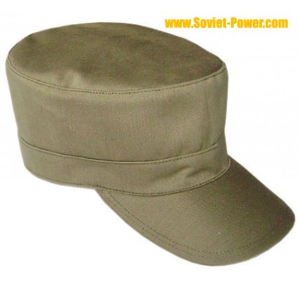 Russian Army hat light OLIVE camo cap