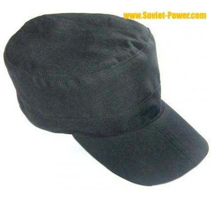 Sombrero negro OMON del casquillo de Spetsnaz del ejército ruso