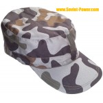 Russian Army hat 4-color gray camo cap