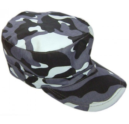 Russian Army Day-Night 3-color white camo cap