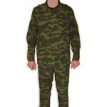 Soldat de l'armée russe FLORE camouflage uniforme et chapeau