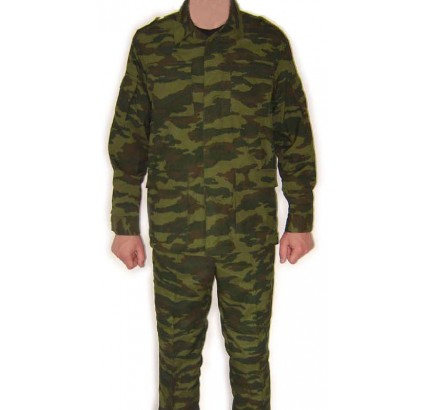 Russian Army soldier FLORA camouflage Uniform and Hat