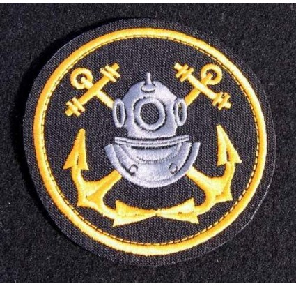 USSR Soviet Union Naval Fleet Divers patch 31