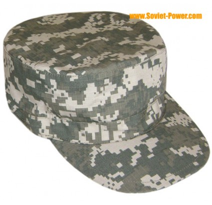 Military 3-color digital hat camouflage cap Rip-Stop