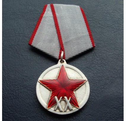 Soviet military Medal 20 years to RKKA Red Army