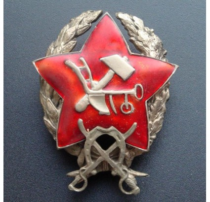 Red Army Russian badge cavalry commander 1918
