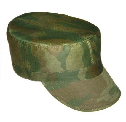 Russian Army hat Flora cylinder camo cap
