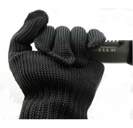 Russian special force protective Tactical gloves kevlar with steel thread