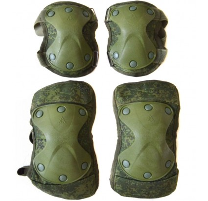 Tactical Kneepads and Elbow Pads for Russian Army Special Forces 6B51