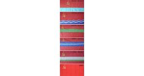 6 Navy flags of former Soviet Union republics